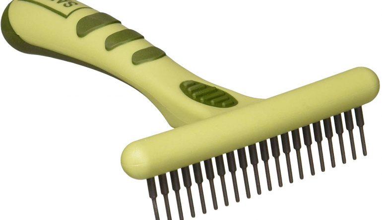 Safari Long dent sous-poil Râteau de chien, conçu pour de gros manteaux